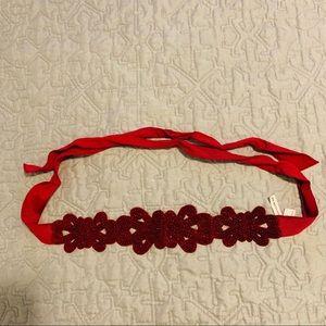 Red Beaded Belt